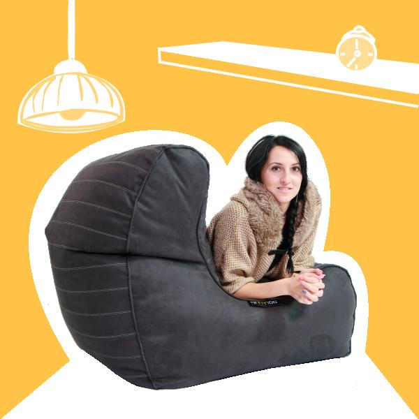 Sedacie vaky Rimmoo do interiéru, obývačky alebo spálne