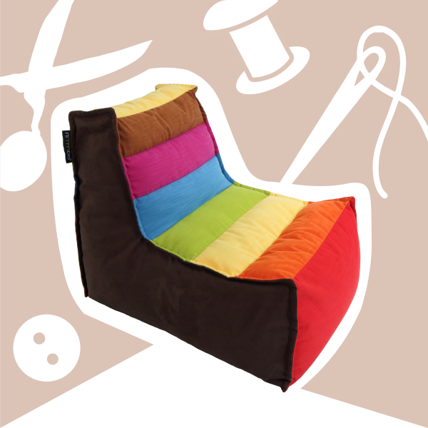 Ušijeme vám sedacie vaky na mieru. Výroba podsedákov, celých terasových prevedení, či interiérových sedacích súprav.